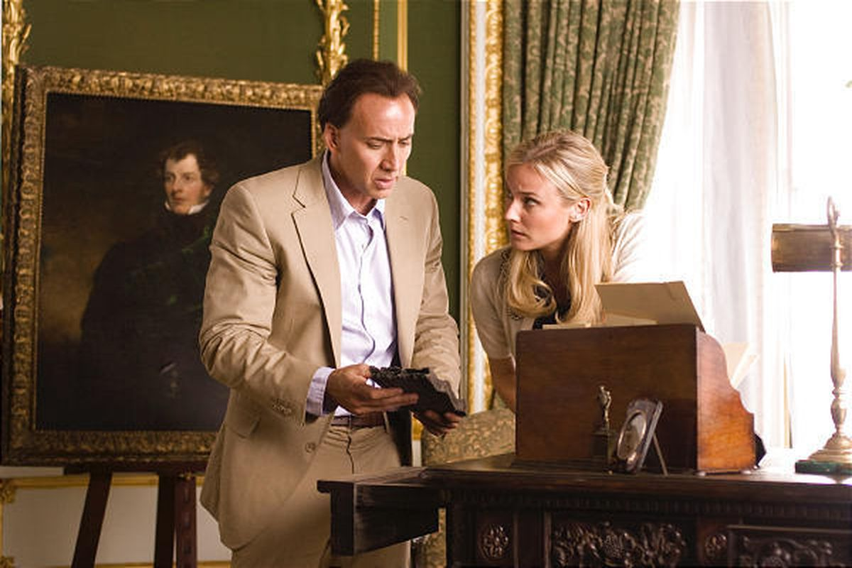 National Treasure 3 What Is On Page 47 We May Learn Soon Deseret News