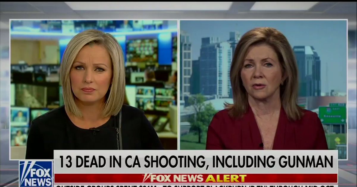 Marsha Blackburn is an NRA favorite. Her comments about the Thousand Oaks shooting show why.