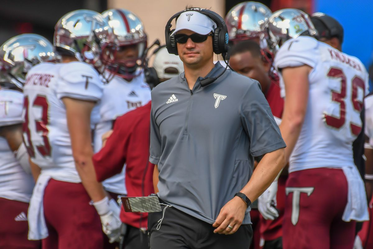 timeless design fb447 ff0c1 Neal Brown Officially Introduced as 35th WVU Head Football ...