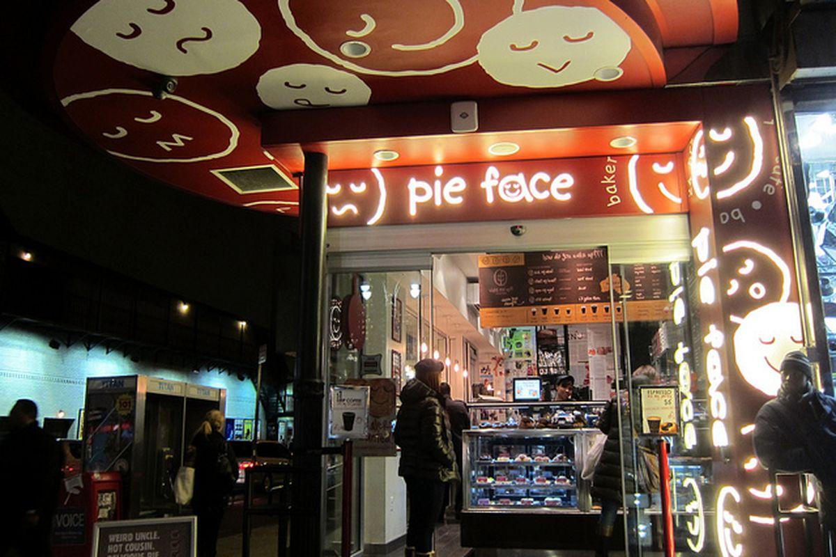 Pie Face, NYC