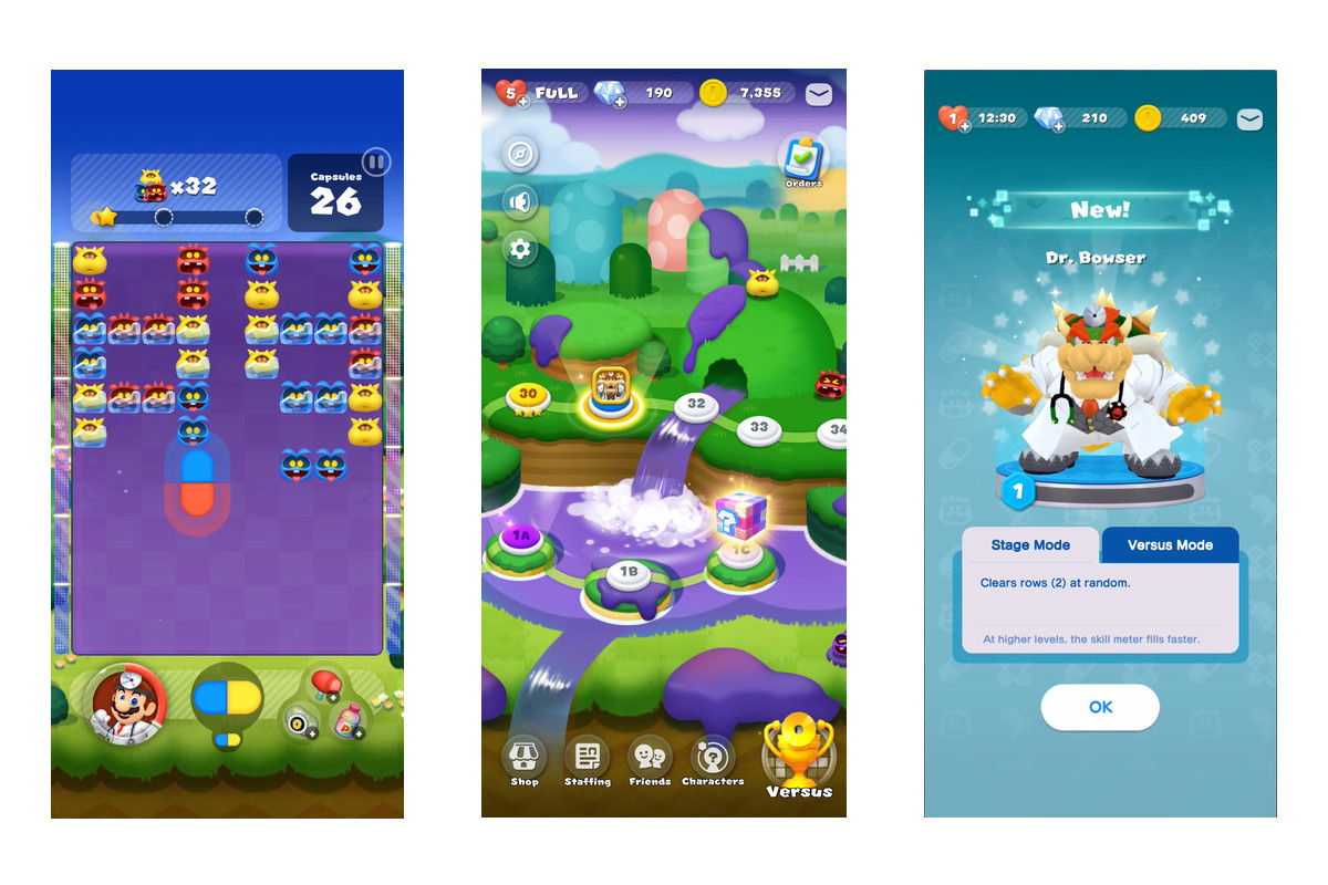 Dr  Mario World feels more like Candy Crush than the classic