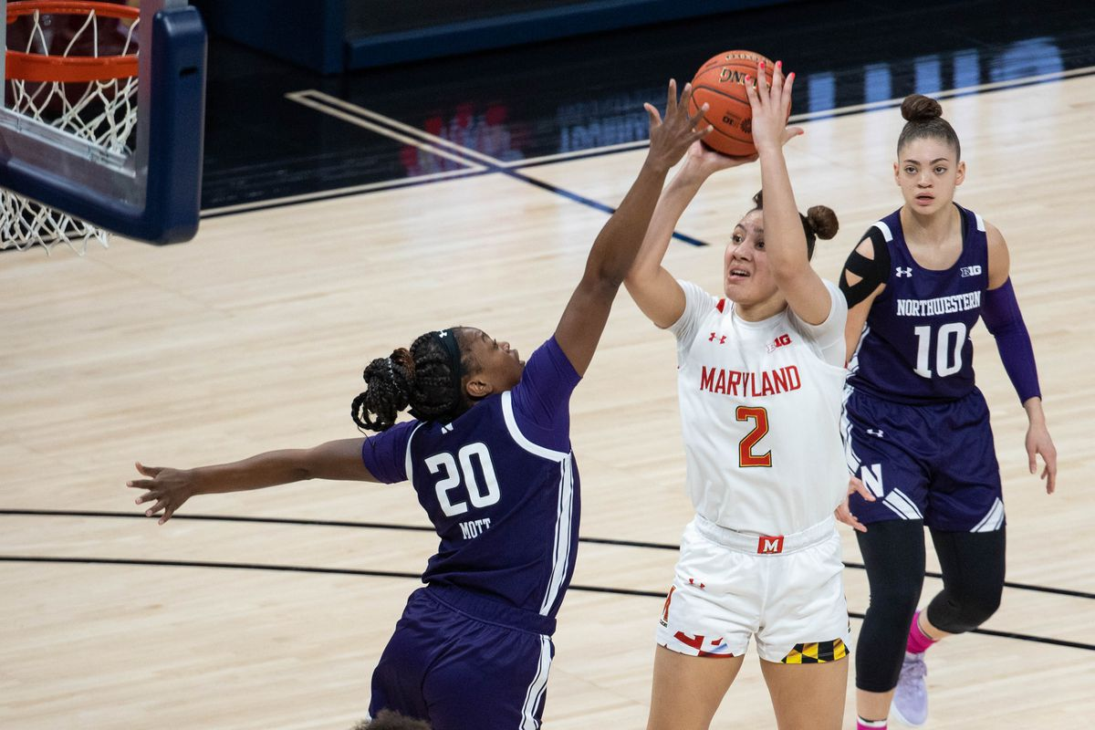 NCAA Womens Basketball: Big Ten Conference Tournament-Maryland vs Northwestern