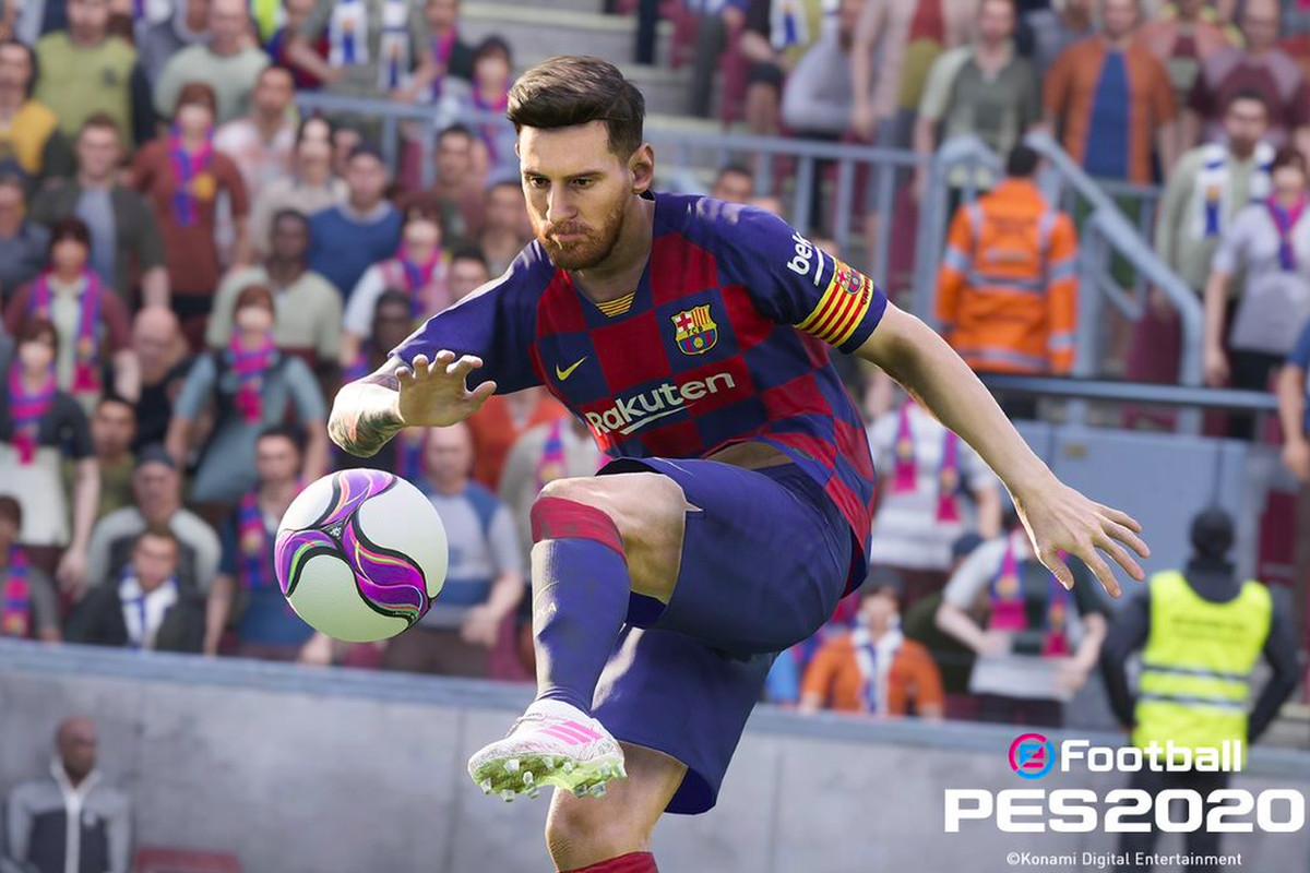 Pro Evolution Soccer is back, with a slight name change