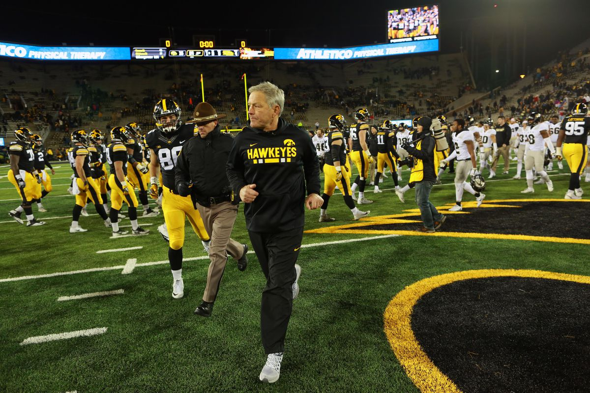 IOWA FOOTBALL IN 2018: Looking at the Iowa Hawkeyes' Football Schedule - Black Heart Gold Pants