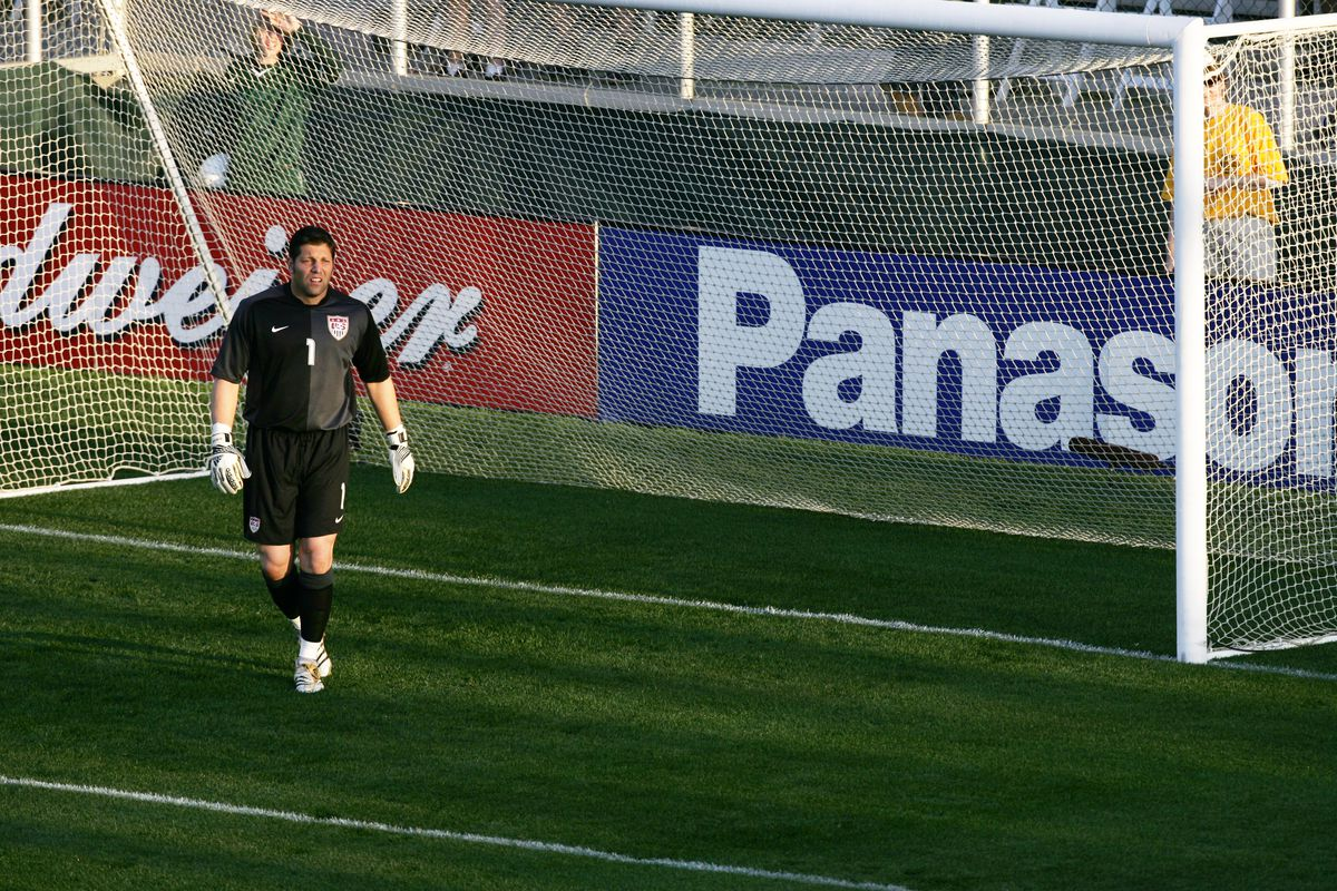 Tony Meola was the starting goalkeeper for Team USA, now he's the coach and technical director in Florida.