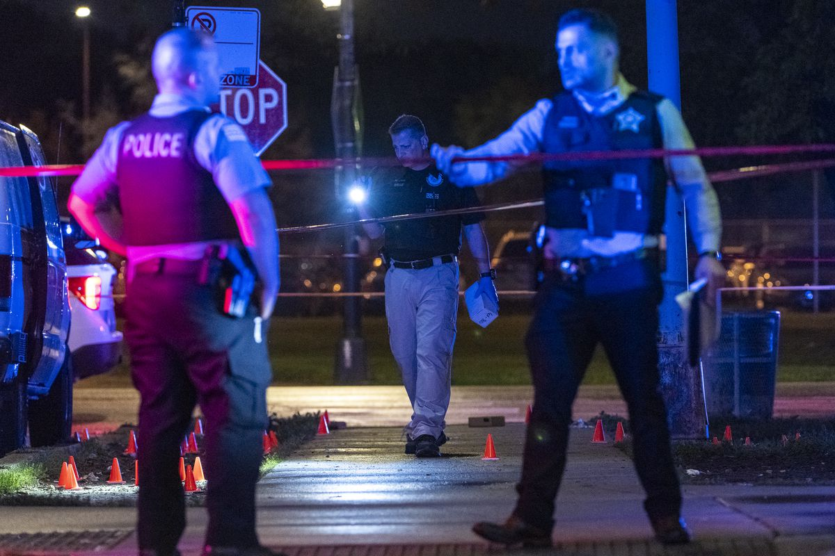 At least 39 people were shot, 10 fatally since 5 p.m. July 9, 2021.
