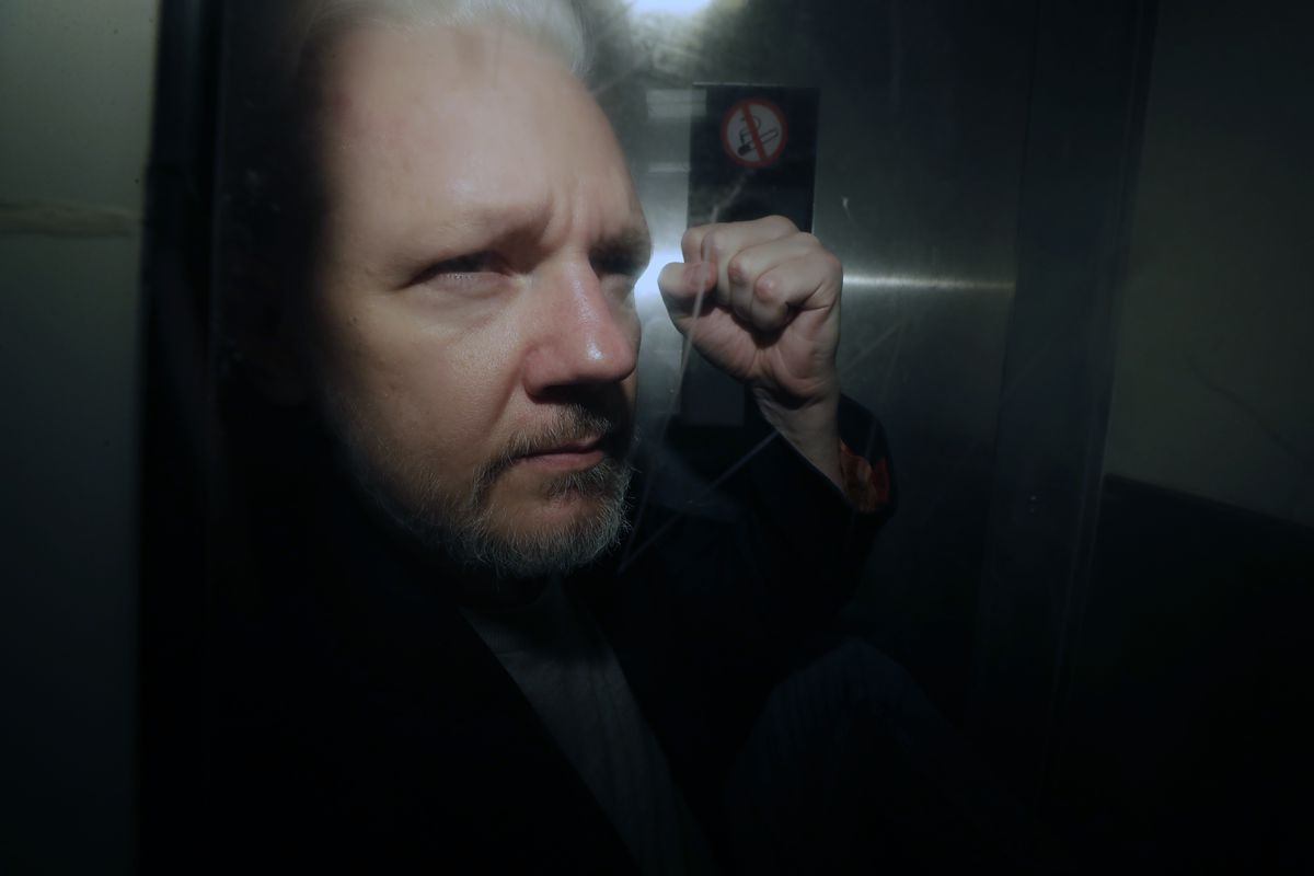 Julian Assange charged with publishing classified info