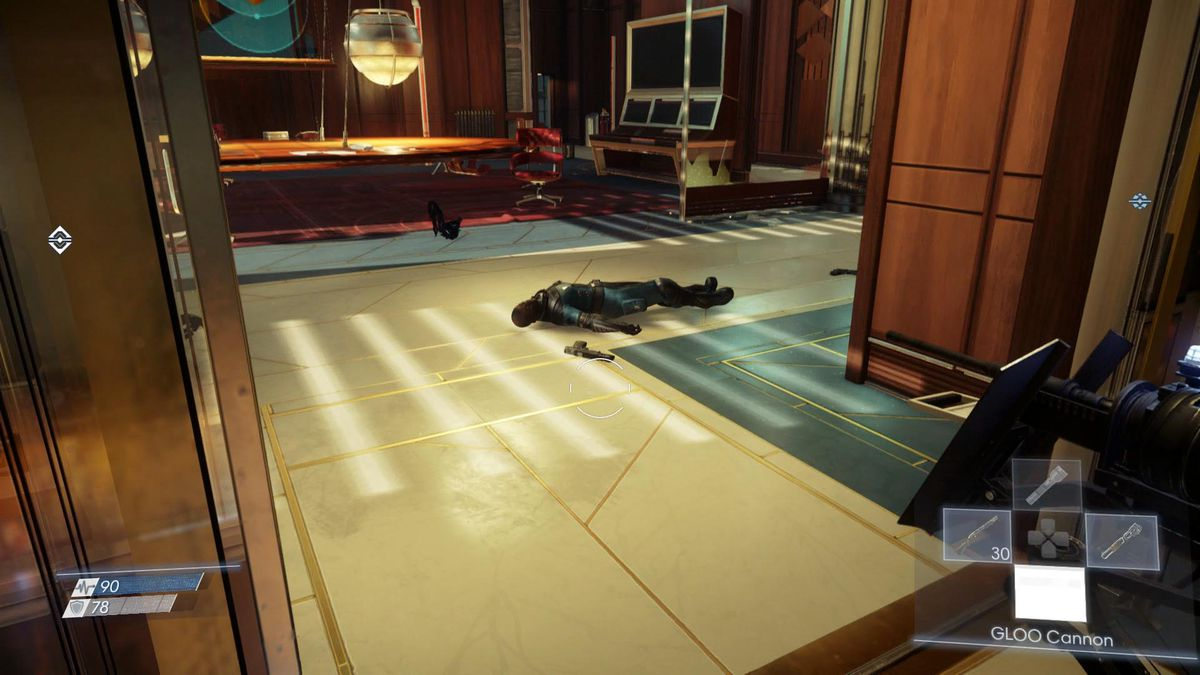 Prey Guide Where To Find Fabrication Plans For Ammo Consumables Flashlight Stun Gun Schematic Diagram The Your Silenced Pistol Are In Teleconferencing Room On Third Floor Of Talos 1 Lobby Youll Loot Them From Corpse Just