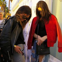 The Jenner sisters have arrived.