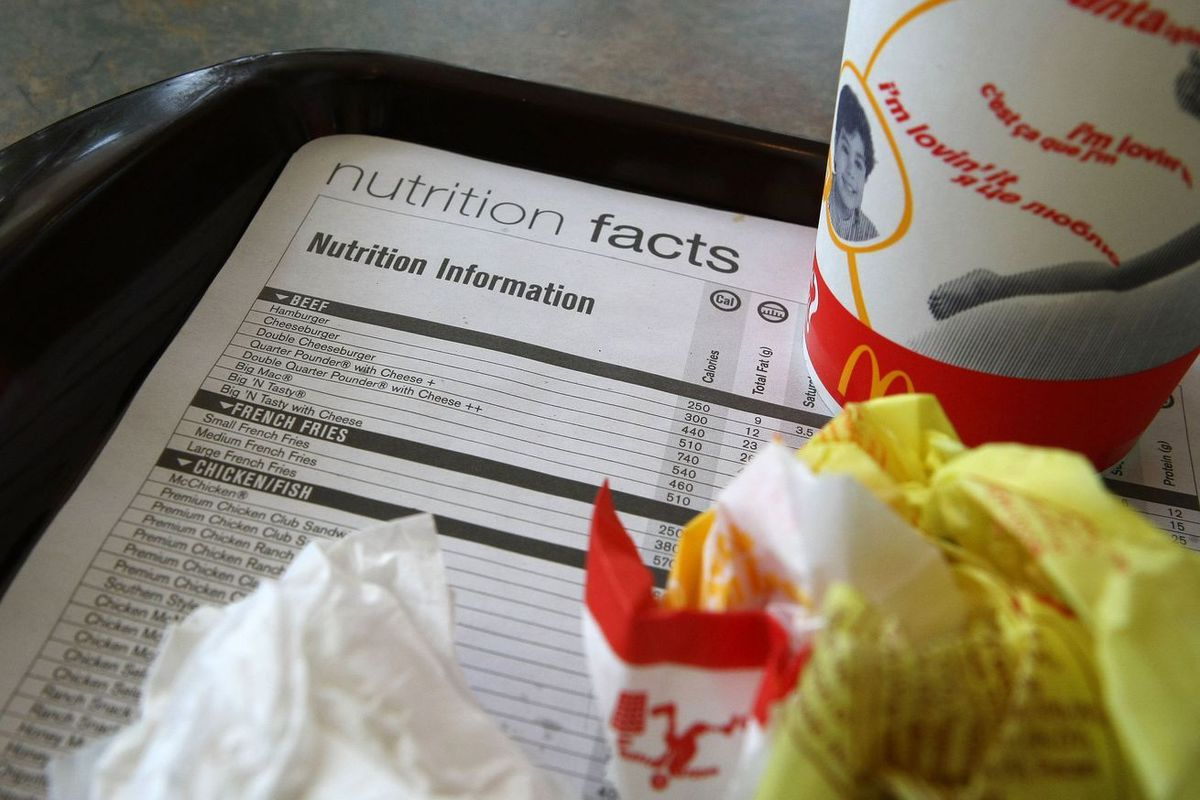 McDonald's nutrition facts