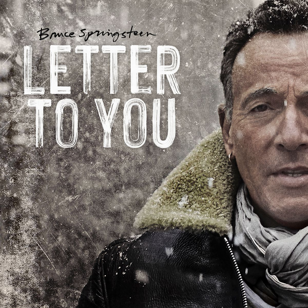 """This cover image released by Columbia Records shows """"Letter To You"""" by Bruce Springsteen. The album was named one of the top 10 of the year by the Associated Press."""