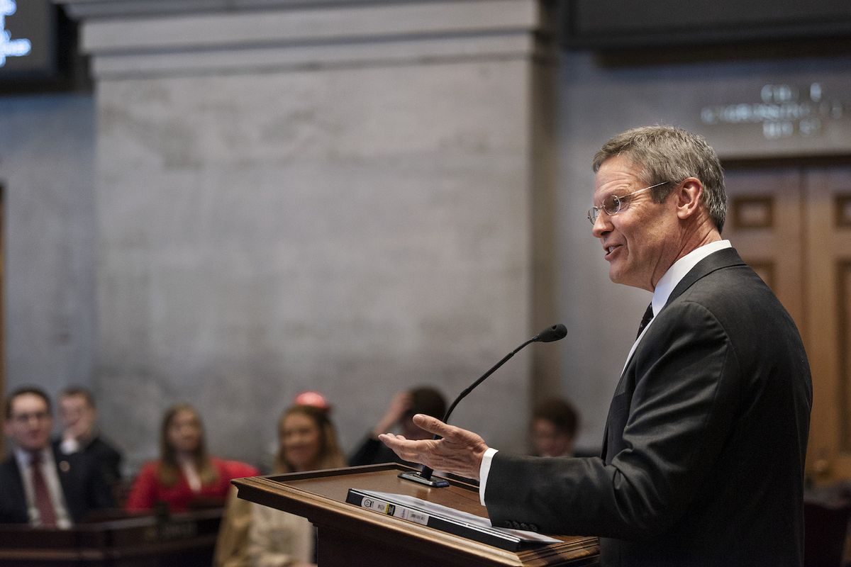 Gov. Bill Lee will release his first proposed budget and deliver his first State of the State address on Monday at the State Capitol.