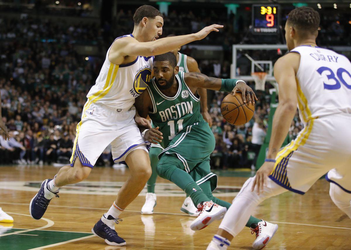 NBA: Golden State Warriors at Boston Celtics