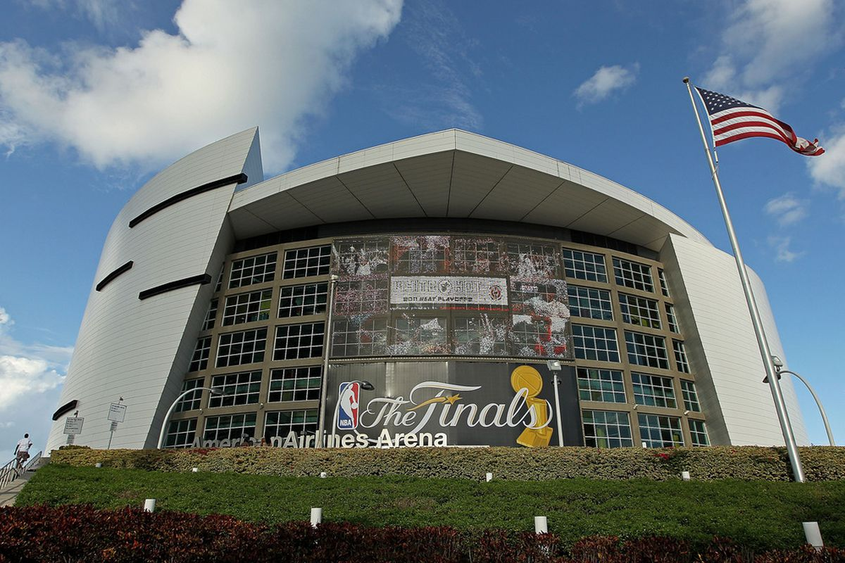 For the second time since its construction, the American Airlines Arena will host the NBA Finals.