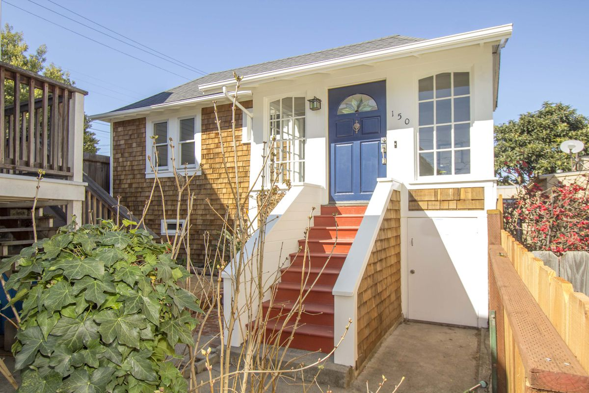 San francisco s smallest house on the market has big charm for Home in san francisco