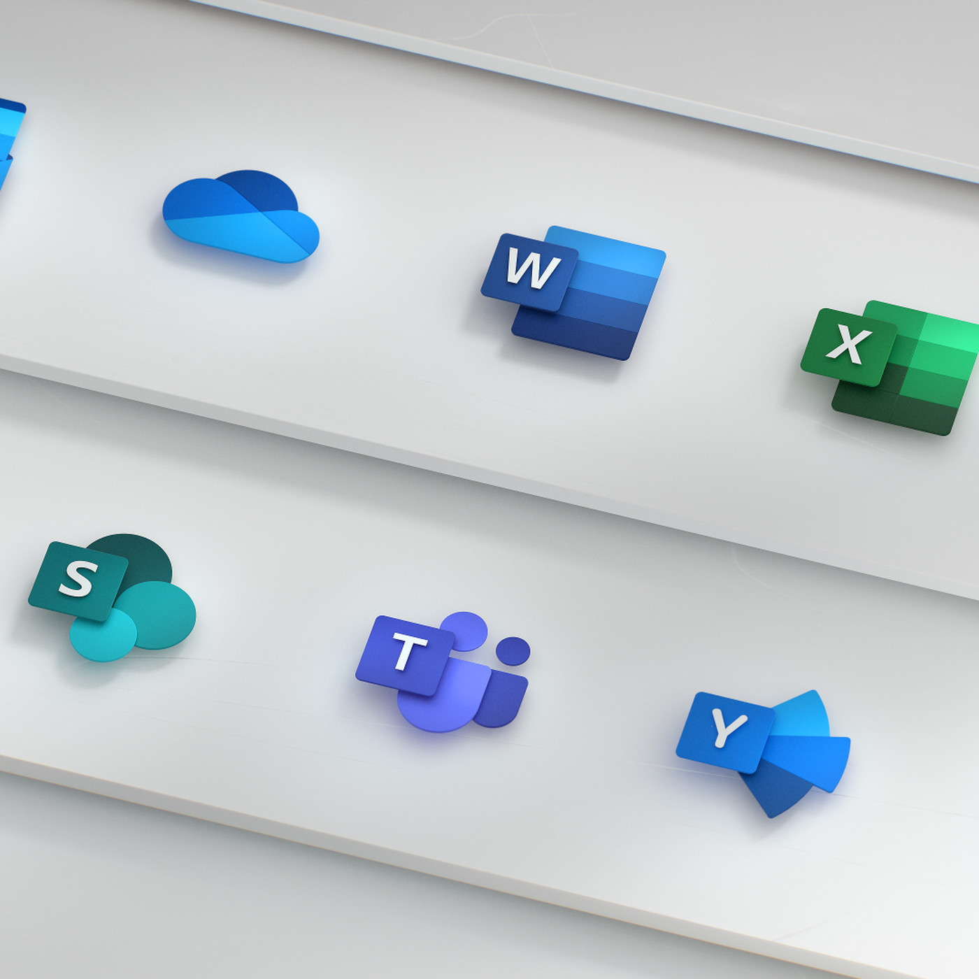 Microsofts New Office Icons Are Part Of A Bigger Design Overhaul