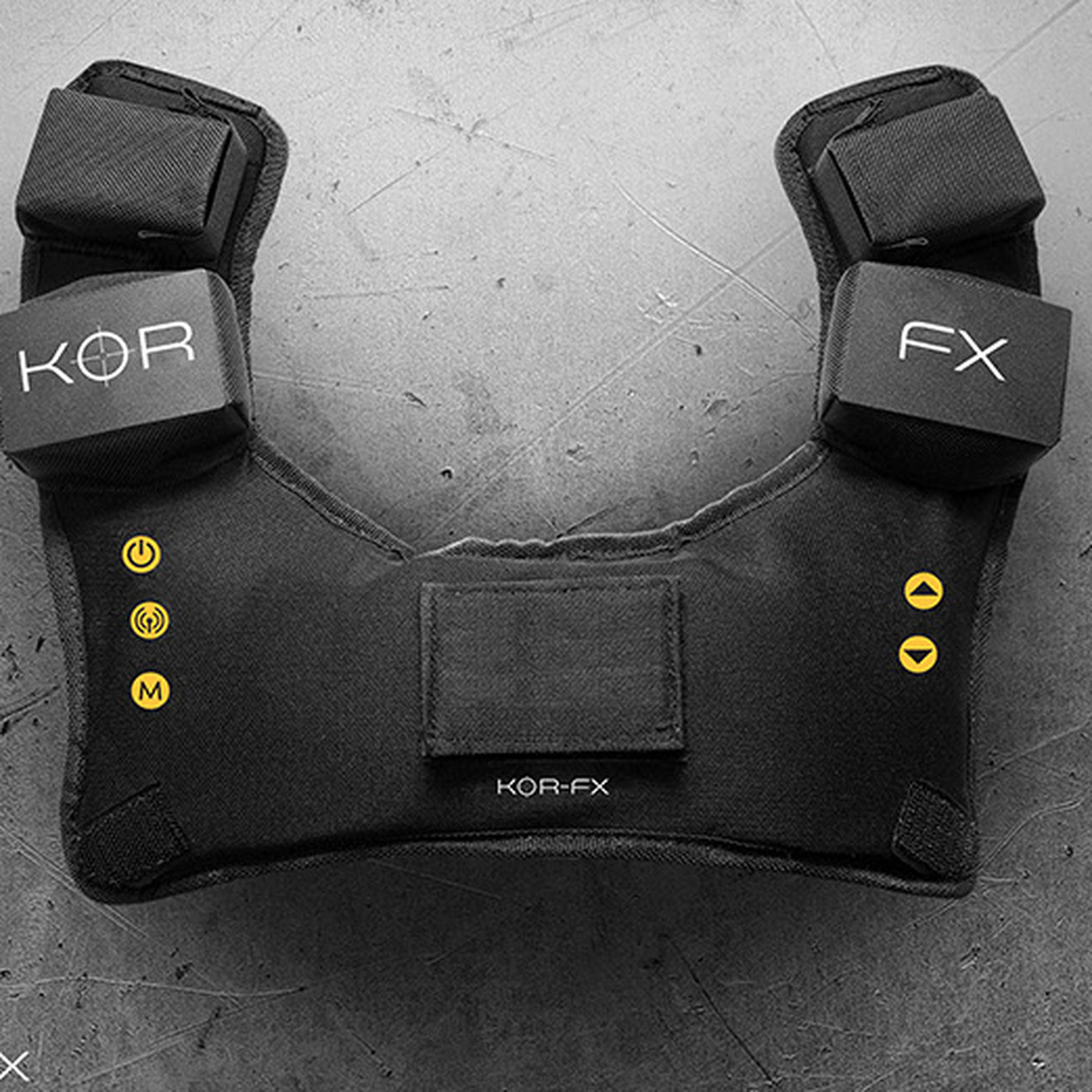 The KOR-FX haptic vest looks stupid, is a pain to set up, feels