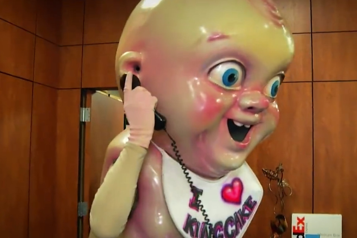 The Pelicans King Cake Baby Video Is Straight Up Terrifying
