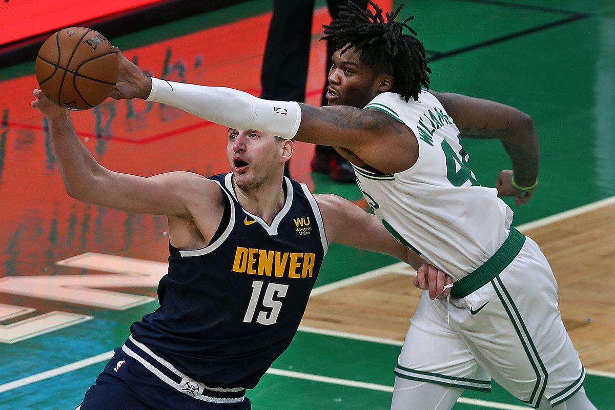 Denver Nuggets Vs Boston Celtics At TD Garden