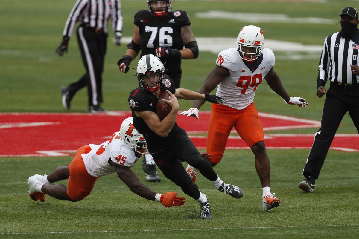 NCAA Football: Illinois at Nebraska