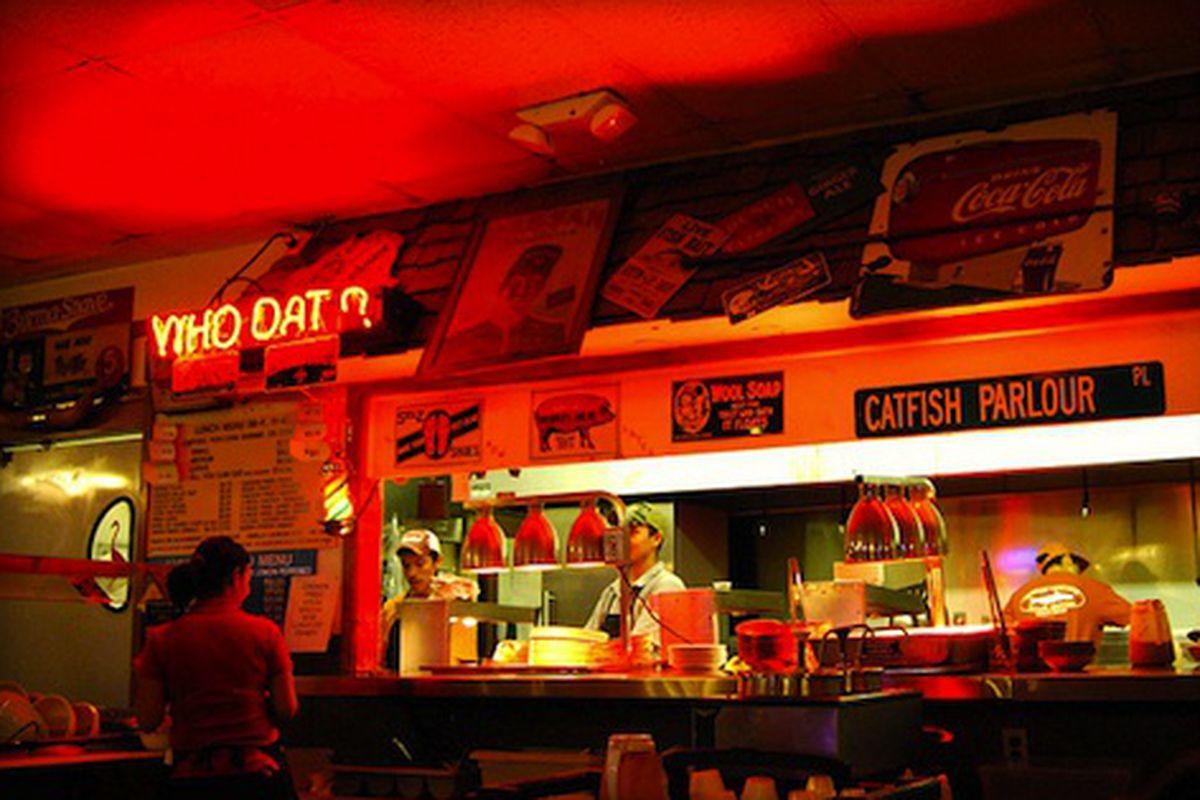 Catfish Parlour Kitchen, Austin, TX.