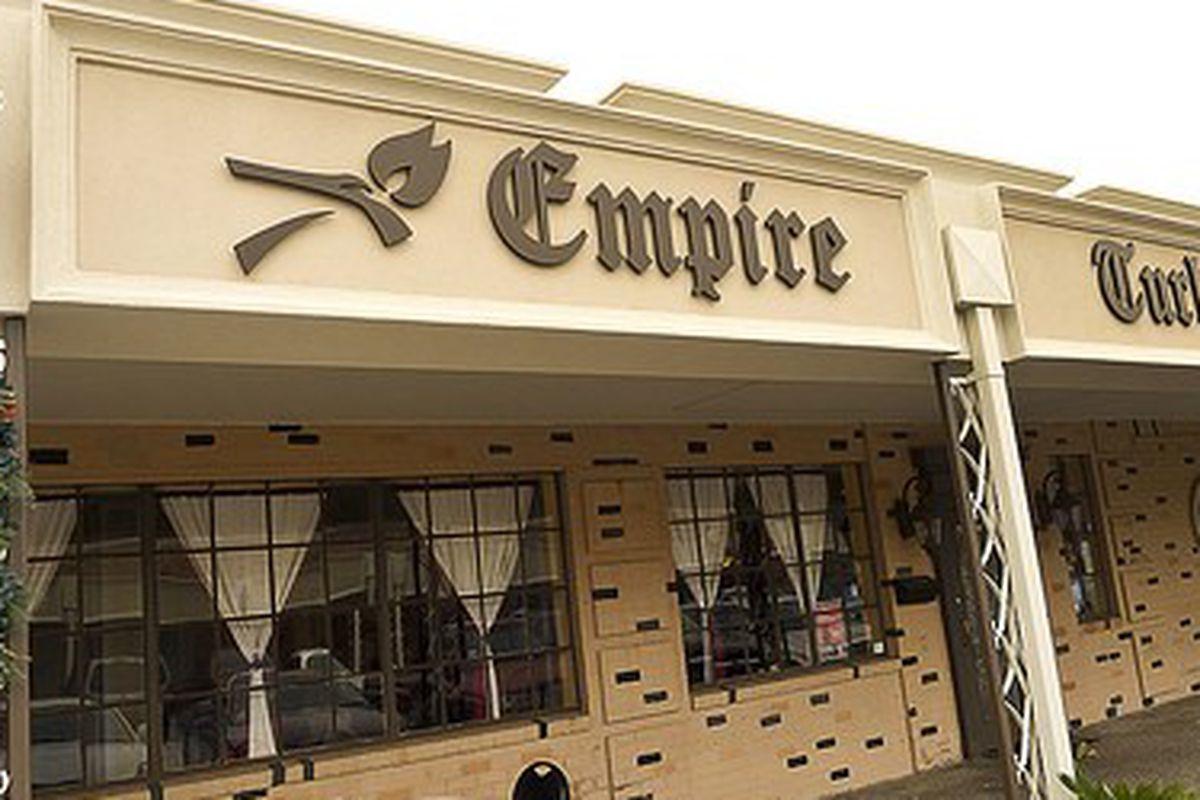 Empire Turkish Grill.