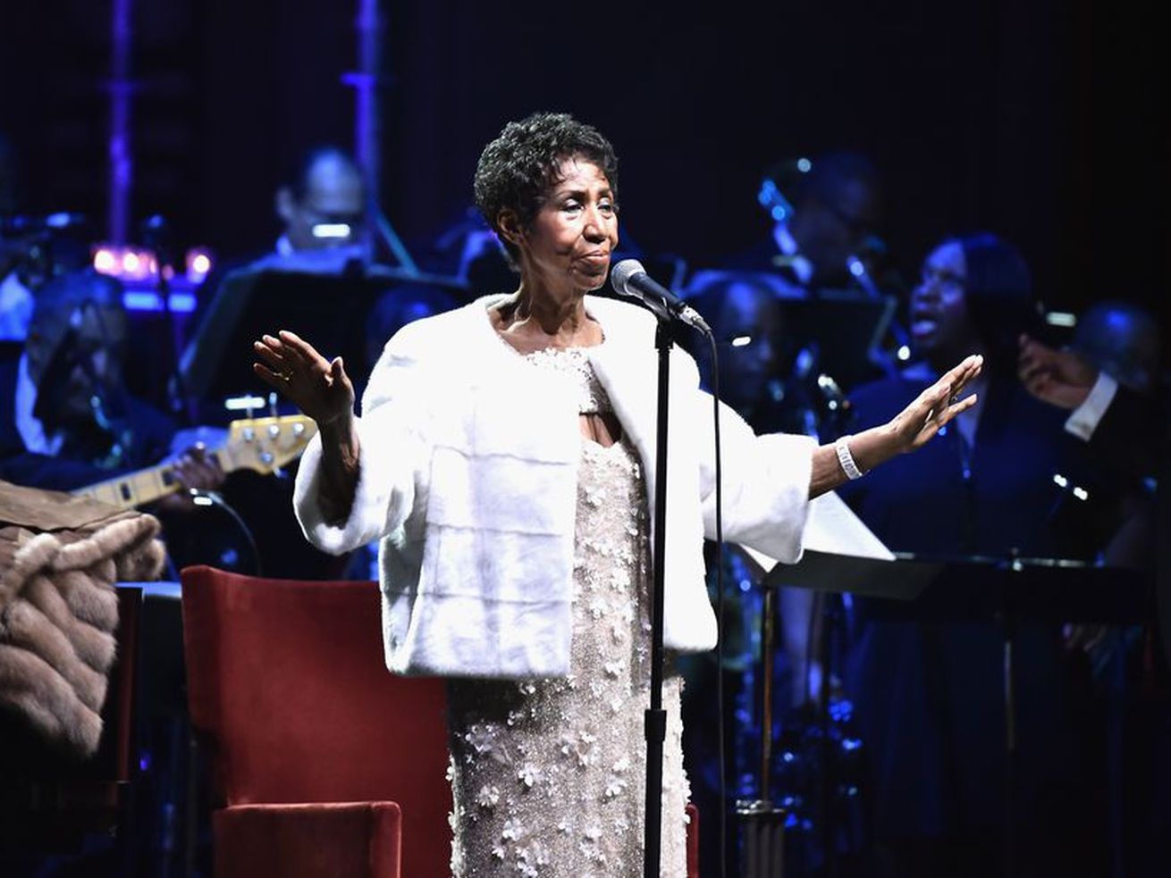 If you come for the Queen of Soul, you better not miss.