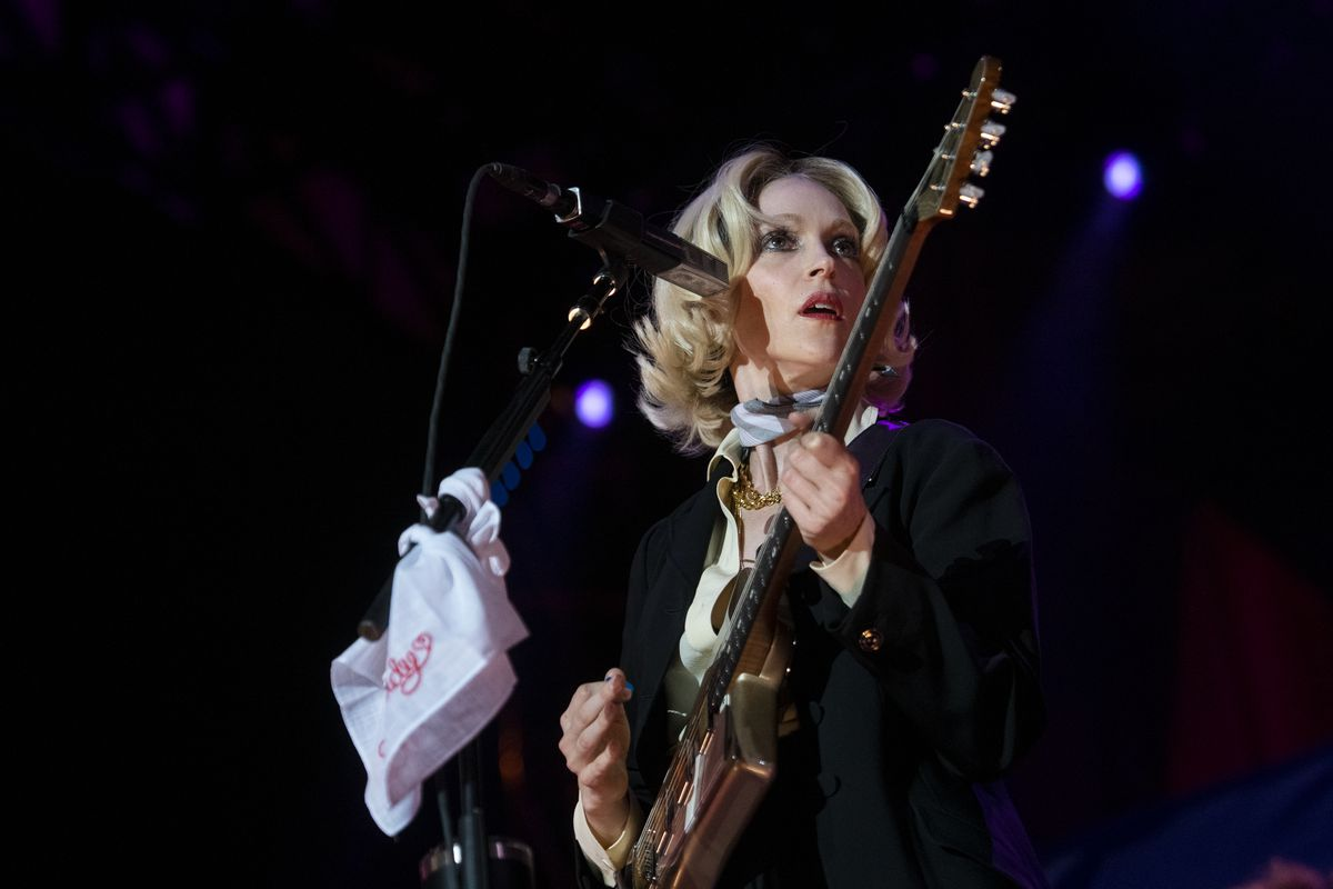 St. Vincent closes out Day 2 of Pitchfork Music Festival at Union Park on Saturday night.
