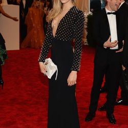 Cara Delevingne in studded Burberry