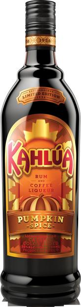 Kahlúa Pumpkin Spice rum and coffee liqueur