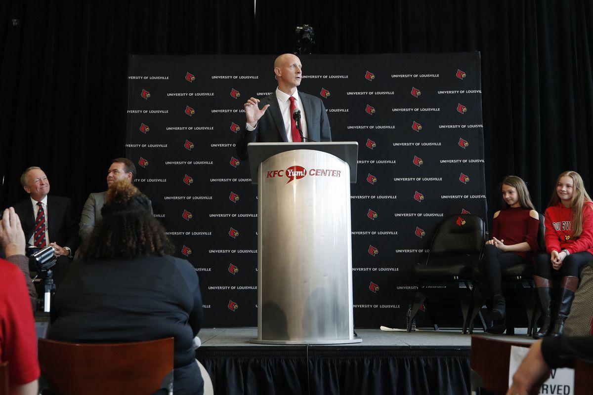 Louisville Introduces Chris Mack as Men's Basketball Coach