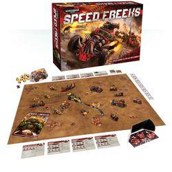 The $150 version of the <em>Speed Freeks</em> game.