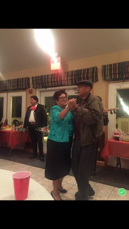Jaime Hernandez is shown dancing with his wife, Maria Guadalupe Rios Valdez, in this undated photo. Hernandez died in 2018 at a Forest Park nursing home.
