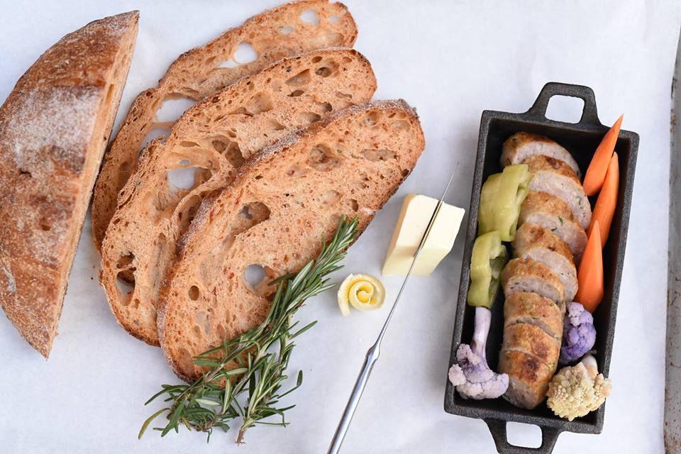 Brato Brewhouse spread