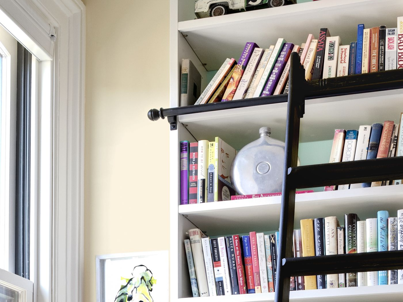 How To Build A Rolling Library Ladder This Old House