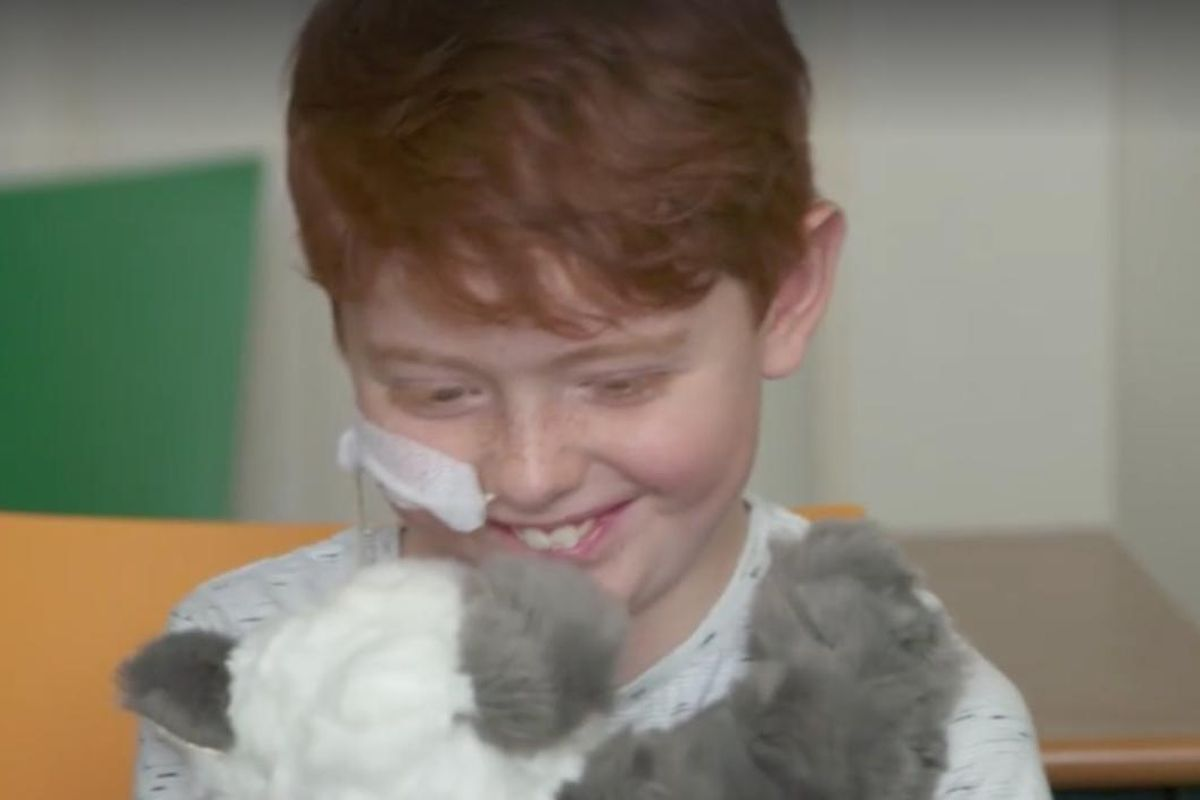 the clean cut: 12-year-old sews stuffed animals for sick kids