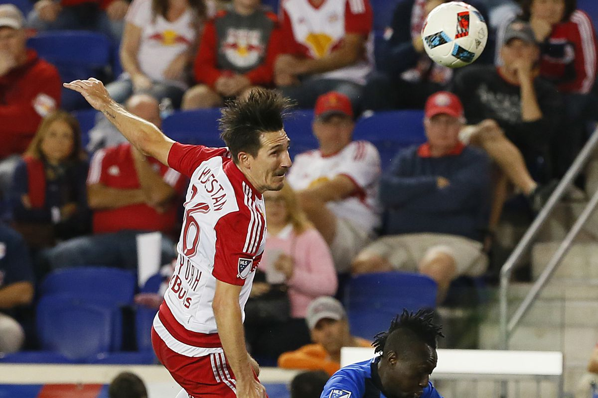 Red Bulls are getting ready for the Union.