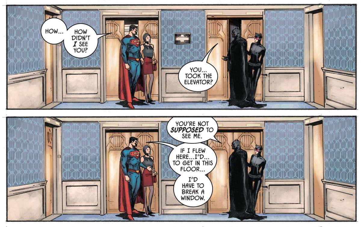DC comics' Tom King & Brian Bendis: Batman, Superman, and
