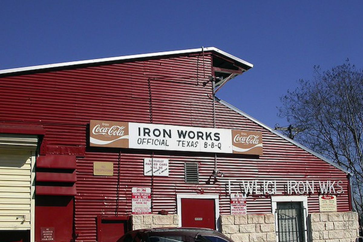 Ironworks Barbecue.
