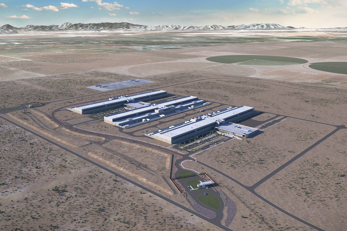 Even before completion, Facebook announces expansion to Utah data center