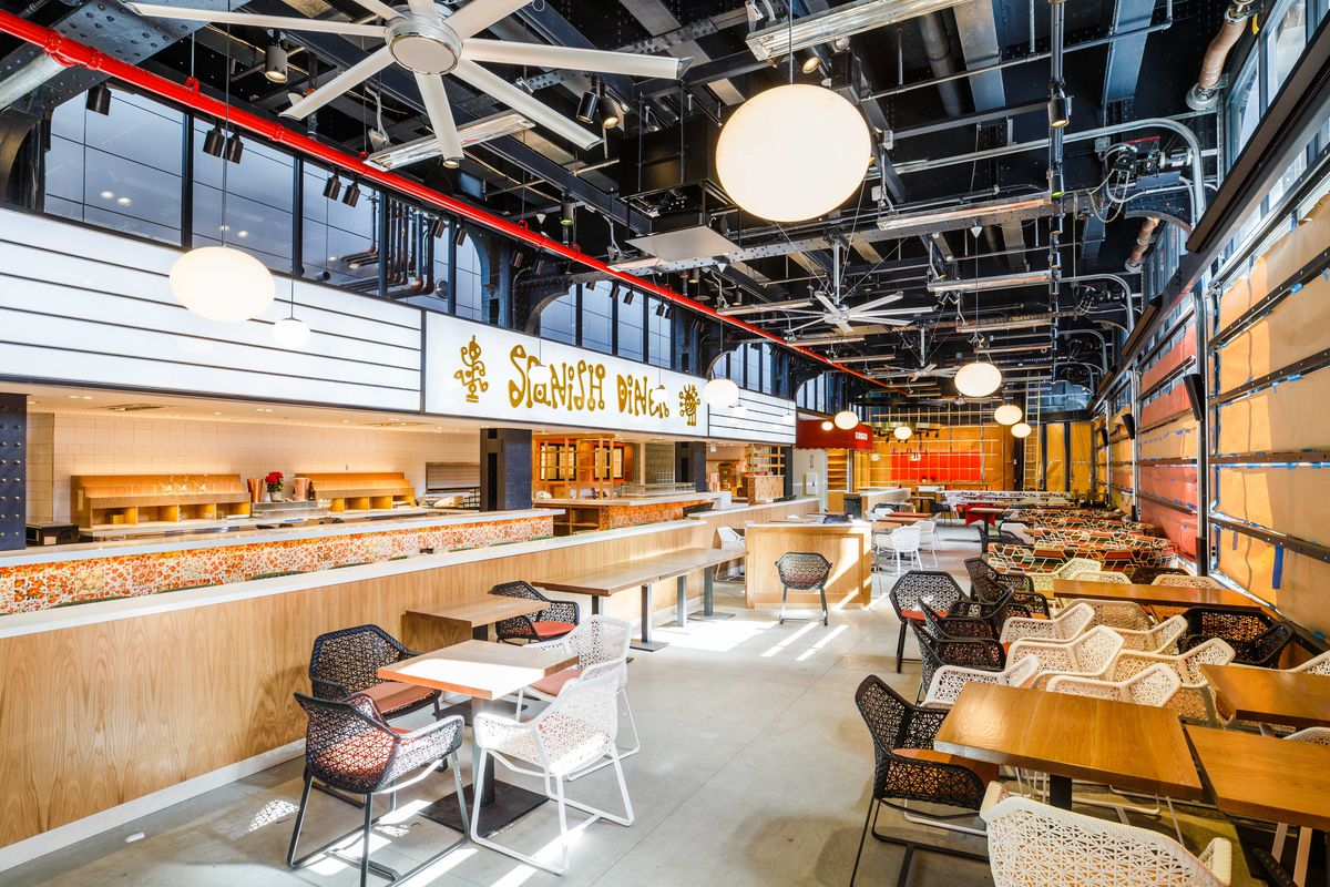 Jose Andres S Spanish Diner At Mercado Little Spain In