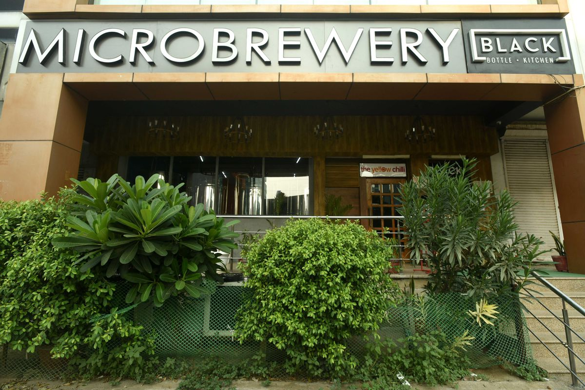 Microbrewery Plant At Yellow Chilli Restaurant