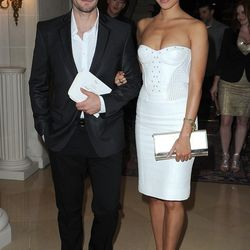 Glee's Matthew Morrison with girlfriend Renee Puente make it a black and white affair (You know what they say about penguins)