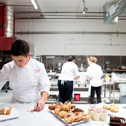 """""""Yigit has touched every single pastry in here,"""" remarked GM Jessica Rohrig as the tasting kicked off."""