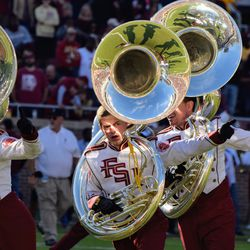 Tuba players are always so serious.