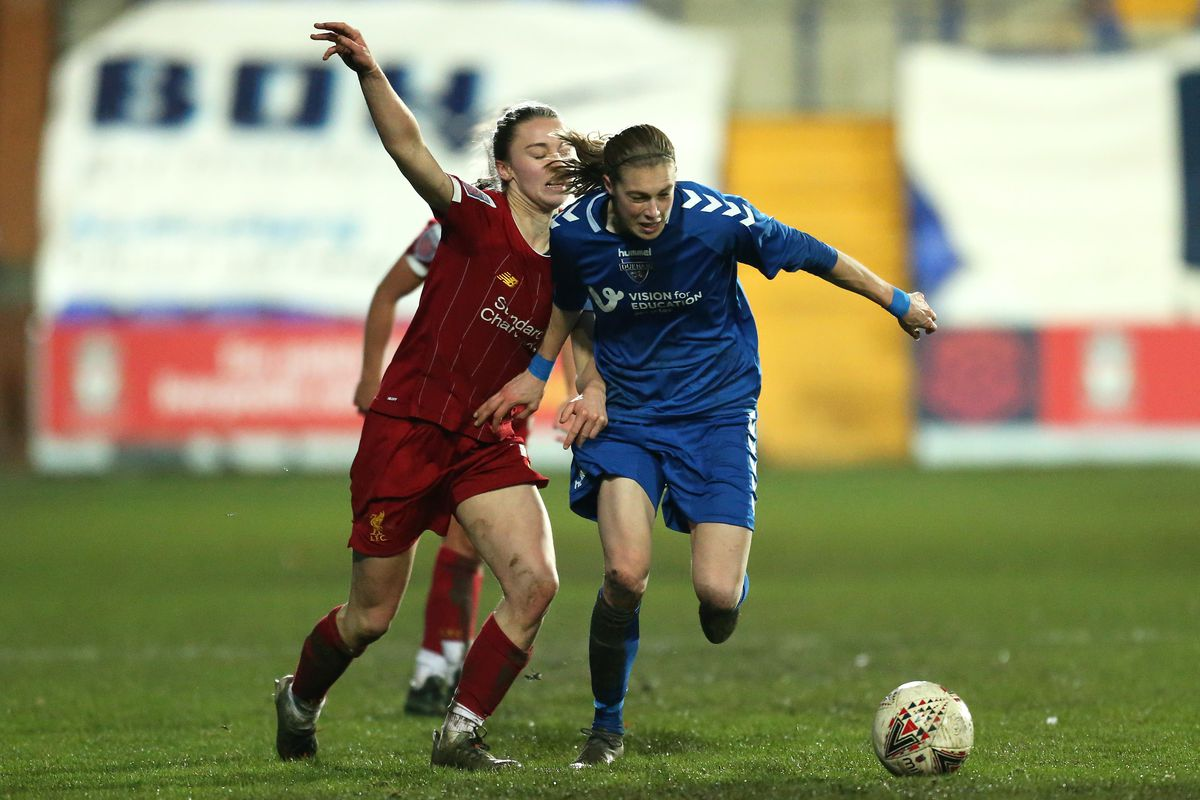 Liverpool FC Women v Durham Women - FA Women's Continental League Cup