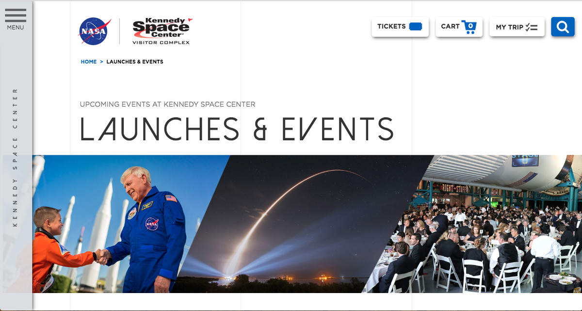Kennedy Space Center Launches