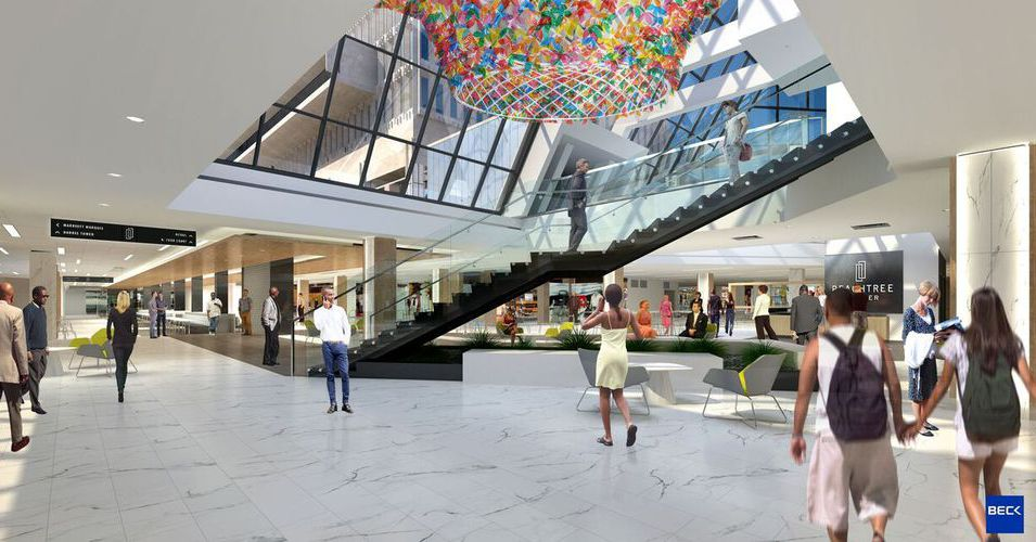 First five restaurants for Peachtree Center's downtown 'Hub' project revealed