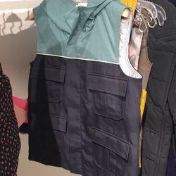 Puffer vest, $75