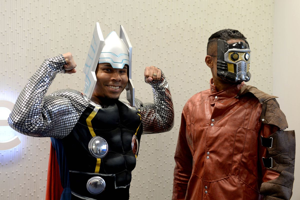 New England Revolution Players Dress Up As Avengers While Visiting Boston Children's Hospital